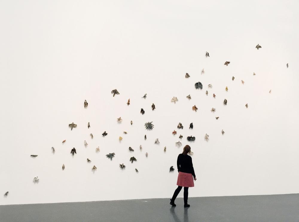 Beate Höing_ Ausstellungsansicht, Dotmunder U